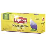 Чай черный LIPTON Magic Aroma пакетированный, 25х2г