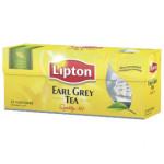 Чай черный LIPTON Earl Grey пакетированный, 25х2г