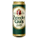 Пиво ZATECKY GUS светлое в железной банке, 0,45л