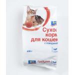 Сухой корм для кошек, говядина ARO 400 г