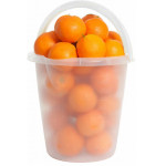 Апельсины в ведре