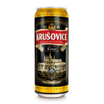 Пиво темное KRUSOVICE Cerne лагер железная банка, 0,5л