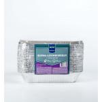 Формы одноразовые METRO PROFESSIONAL алюминиевые с крышкой 216х146х40 см в упаковке, 50 шт