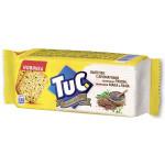 Печенье TUC зеленый лук, мак и лён 105 г