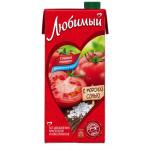 Напиток ЛЮБИМЫЙ, спелый томат, 0,95 л
