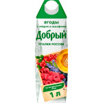 Сок ДОБРЫЙ ягоды-шалфей 1 л