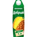 Нектар ДОБРЫЙ Ананасовый, 1л