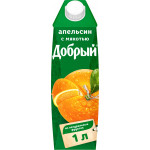Нектар ДОБРЫЙ Апельсин, 1л