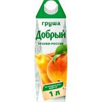 Нектар ДОБРЫЙ Грушевый, 1л
