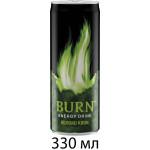 Энергетический напиток BURN Apple Kiwi, 0,33л