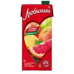 Напиток ЛЮБИМЫЙ ГРЕЙПФРУТ-ЛИМОН-ЛАЙМ 0,95 л