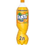 Газированный напиток FANTA, 2л