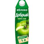 Сок ДОБРЫЙ Яблоко, 1л