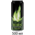 Энергетический напиток BURN яблоко-киви 0,5 л