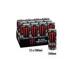 Энергетический напиток BLACK MONSTER в железной банке 0,5 л