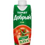 Сок ДОБРЫЙ томат, 0,33л
