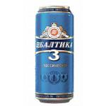 Пиво БАЛТИКА №3 классическое, жестяная банка 0,45 л
