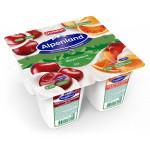 Йогуртный продукт EHRMANN Alpenland Альпийский вкус вишня-нектарин-дикий апельсин, 4х95 г