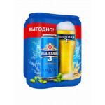 Пиво БАЛТИКА №3 железная банка мегапак, 4х0,45 л