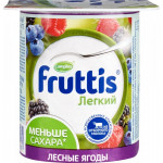 Йогуртовый продукт FRUTTIS Ананас дыня яблоко 0,1%, 110 г