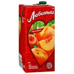 Нектар ЛЮБИМЫЙ Яблоко персик, 1,93 л