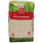 Рис FINE LIFE Круглозерный, 900 г