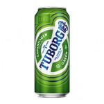 Пиво TUBORG Green железная банка, 0,45 л