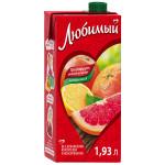 Напиток ЛЮБИМЫЙ Грейпфрут-лимон, 1,93 л