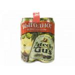 Пиво ZATECKY GUS железная банка мегапак, 4х0,45 л