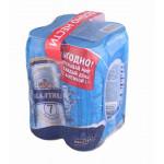 Пиво БАЛТИКА №7 железная банка мегапак, 4х0,45 л