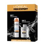 Пена для бритья LOREAL MEN EXPERT + после бритья ледяной эффект