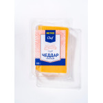 Сыр METRO CHEF Чеддар красный нарезка 50%, 500г