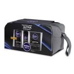 Подарочный набор NIVEA пена для бритья + лосьон после бритья + дезодорант ULTRA