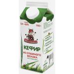 Кефир из отборного молока ПЕСТРАВКА 3,4%-4,5% 750 г