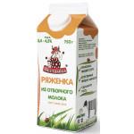 Ряженка из отборного молока ПЕСТРАВКА 3,4-4,5% ПЮР-ПАК 750 г