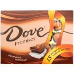 Шоколадные конфеты DOVE PROMISES Молочные, 120 г
