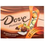 Десертное ассорти DOVE Promises молочный шоколад, 118 г