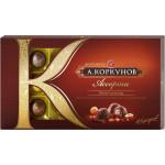 Молочный темный шоколад ассорти А.КОРКУНОВ 192 г