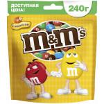 Драже M&M'S Макси с арахисом, 240г