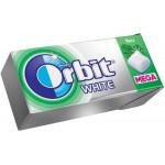 Жевательная резинка ORBIT WHITE Мега-мята 16 г