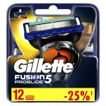 Кассеты для бритья GILLETTE Fusion Proglide, 12шт