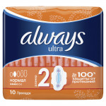 Прокладки ALWAYS Ultra Normal Plus, 10 шт