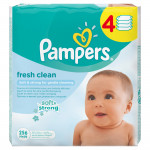 Салфетки Pampers Baby Fresh Clean, 64 шт