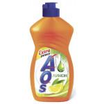 Жидкость для мытья посуды AOS Лимон, 450 мл