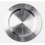 Блюдо сервировочное нержавеющая сталь с узором, 30см
