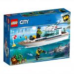 Яхта для дайвинга LEGO CITY