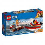 Пожар в порту LEGO CITY