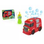 Пожарная машина, с интерактивными элементами (пузыри, свет, звук)