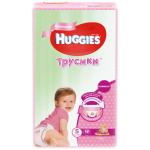 Трусики HUGGIES для девочек 5-ти лет (13-17кг), 48 шт.
