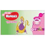 Трусики HUGGIES для девочек 5 (13-17кг), 96 шт.